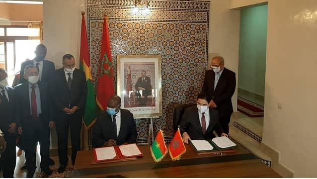 Coopération Burkina-Maroc