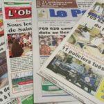 Revue de presse : Examens du CEP, CAP, BEP, BEPC et Embuscade meurtrière sur l'axe-Barsalogo-Foubé font la Une des quotidiens